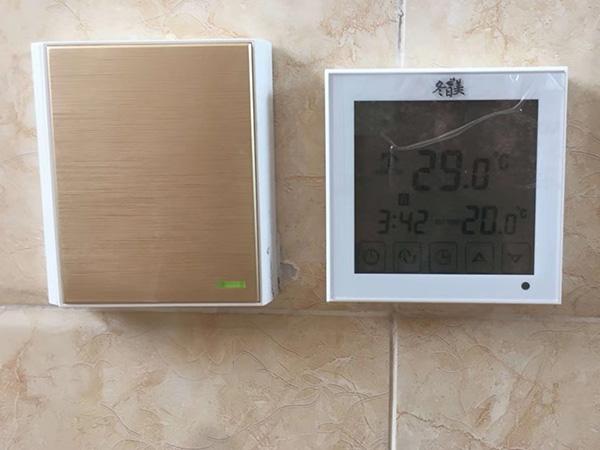 触屏WIFI温控器